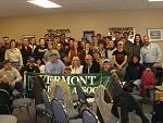 Group photo of Vermont Farriers Association clinic with Mr. Mitch Taylor